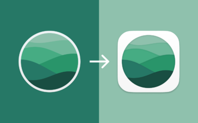 Flow's new Big Sur styled app icon